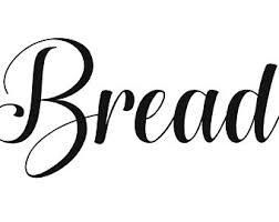 Bread Box Decals Etsy