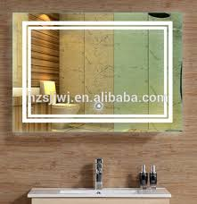 bathroom mirror led modern wall mounted