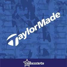 Taylor Made Golf Clubs Decal Car Truck Window Sticker Laptop Cart Viny Eccentric Mall