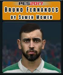PES 2017 Bruno Fernandes Face by Sameh Momen – PES Social