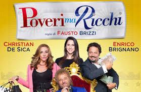 Poveri ma Ricchi: cinepanettone, film di Natale 2016 con De Sica