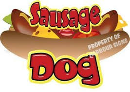 Sausage Dogs Concession Trailer Food Vinyl Decal Harbour Signs