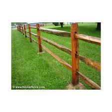 Wood Lap Rails Hemlock Spruce Hoover Fence Co