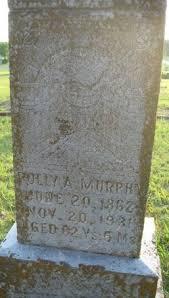 """Nancy A. """"Polly"""" Murphy Murphy (1862-1931) - Find A Grave Memorial"""
