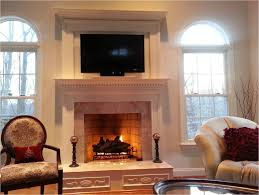 diy fireplace remodel how to simple