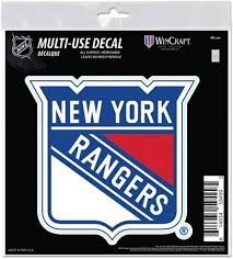 Amazon Com New York Rangers 6 Decal Reusable Die Cut Logo Style Vinyl Auto Home Hockey Sports Outdoors