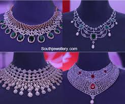 diamond necklace collection by tanishq