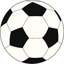 Amazon Com Simple Futbol Soccer Ball Cartoon Emoji Vinyl Sticker 4 Tall Simple Black White Automotive