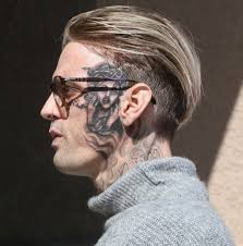 Aaron Carter tattoo artist cut him off from getting whole face ...