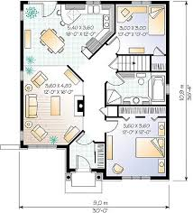 one story style house plan 64993 with 2