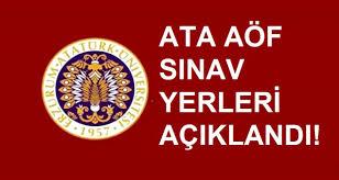 ATA AÖF güz yarıyılı sonu final sınavı giriş belgeleri yayımlandı ...