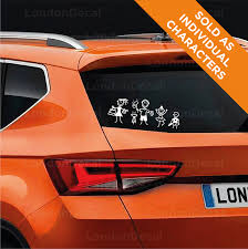 Stick Family Vinyl Car Decal Stickers Londondecal