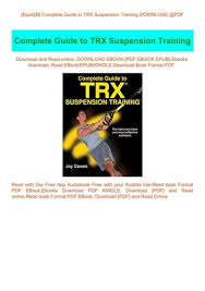 trx suspension pdf