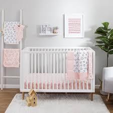 pure organic cotton crib bedding set
