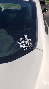 Target Run I M Probably On My Way To Target Car Decal My Way Car Decals Target