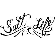 Salt Life Signature O G Decal Black Medium Southern Clothing