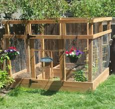 Ana White Garden Enclosure With Custom Gate Diy Projects Garden Enclosure Ideas Garden Gate Design Backyard Landscaping
