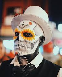 day of the dead makeup ideas bored panda