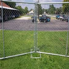 China 1 8m Height Hot Dipped Galvanized Chain Link Fencing China Wire Fence Panel