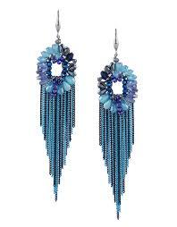 blue colour silver finish korean fancy