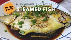How to Cooked Steamed Pompano