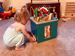 Battat Activity Cube Review Classic Wooden Activity Cube For Toddlers Business Insider