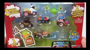Angry Birds Go Telepods Deluxe Multi Pack 5 Karts – Видео Dailymotion