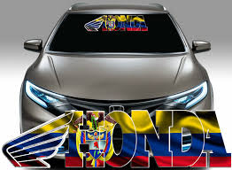 1x Colombia Flag Decal Colombian Flag Decal Sticker Fits Honda 3126 Flag Decal Colombia Flag Colombian Flag