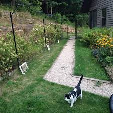 Free Standing Cat Fence Enclosure System Cat Fence Cat Enclosure Cats