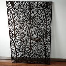laser cut decorative panels wall