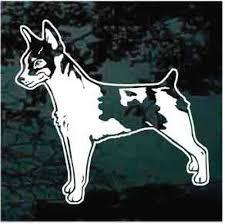 Rat Terrier Car Decals Stickers Decal Junky