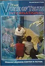 The Voice of Truth International, Volume 73: Byron Nichols: Amazon.com:  Books