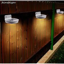 Solar 28 Led Fence Lights Outdoor Wireless Waterproof Solar Powered Motion Sensor Security Wall Lights For Outside Garden Gate Solar Lamps Aliexpress