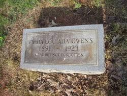 Emma Lou Ada Key Owens (1887-1922) - Find A Grave Memorial