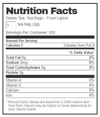 lipton green tea 100 tea bags 8 oz