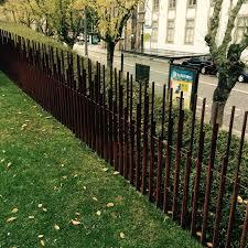 Steel Fence Porto Pt Splitrailfenceideas