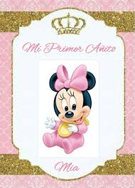 Pin De Yamileth Araya Garita En Minnie Mouse Invitaciones Minnie