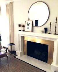 mirror over fireplace ideas tstudio info