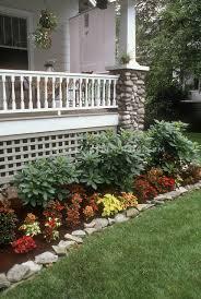 garden borders garden design stock