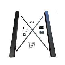 Rdi 4 Ft X 3 Ft Satin Black Aluminum Fence Gate Kit 73020654 The Home Depot