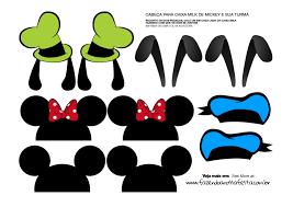 Cajas De Donald Tribilin Pluto Mickey Y Minnie Para Imprimir