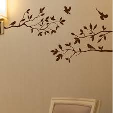 Innovative Stencils Tree Branches With Birds Wall Decal Walmart Com Walmart Com