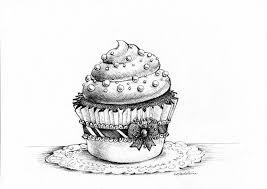 Cupcake By Madeleineink Google Search Kleurplaten Kleuren En