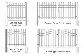 Quality Steel Fence Gates For Access Control