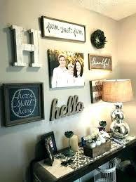 wall decor entrance
