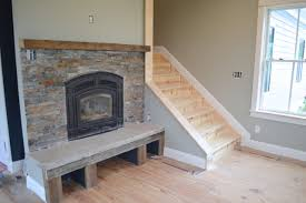 t out a fireplace with barn wood