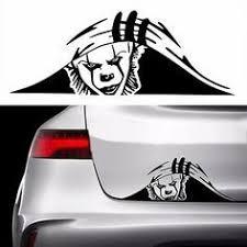 Pennywise It Trunk Peek Vinyl Decal Sticker Car Jdm Misfits Monster Clown Nin In 2020 Car Sticker Design Car Stickers Funny Vinyl Car Stickers