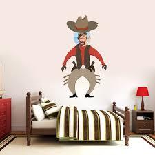 Custom Cowboy Photo Wall Decals Home Decor Stickers