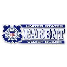 Coast Guard Parent Decal