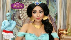 disney princess makeup tutorial jasmine